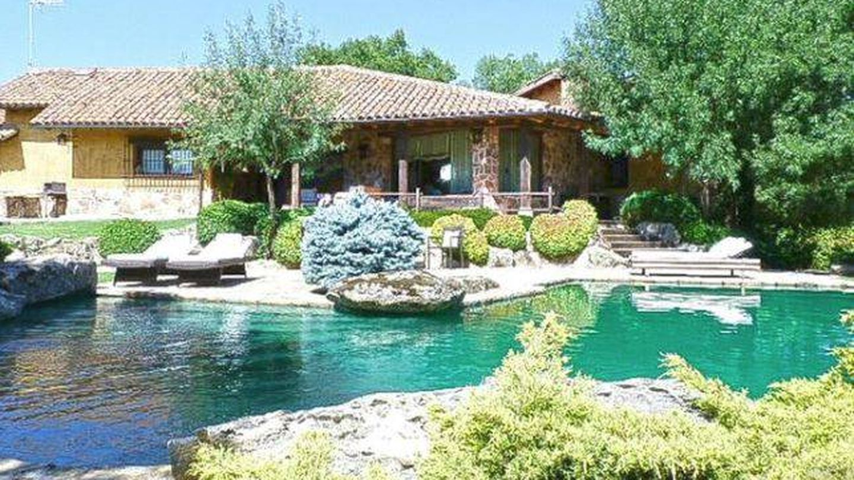 Vista de la casa de Pablo Iglesias e Irene Montero. (Gtres)