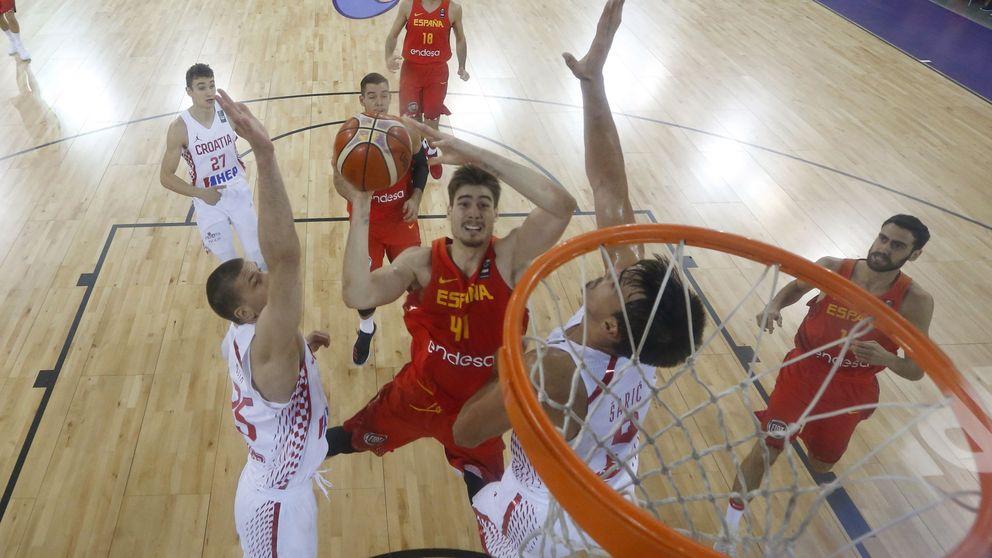 La energía de Juancho Hernangómez enciende a España en el EuroBasket