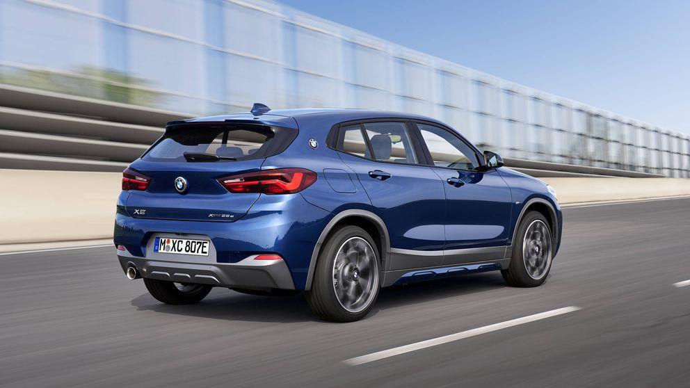 BMW X2 hibrido enchufable, un 4x4 deportivo con etiqueta 0 emisiones