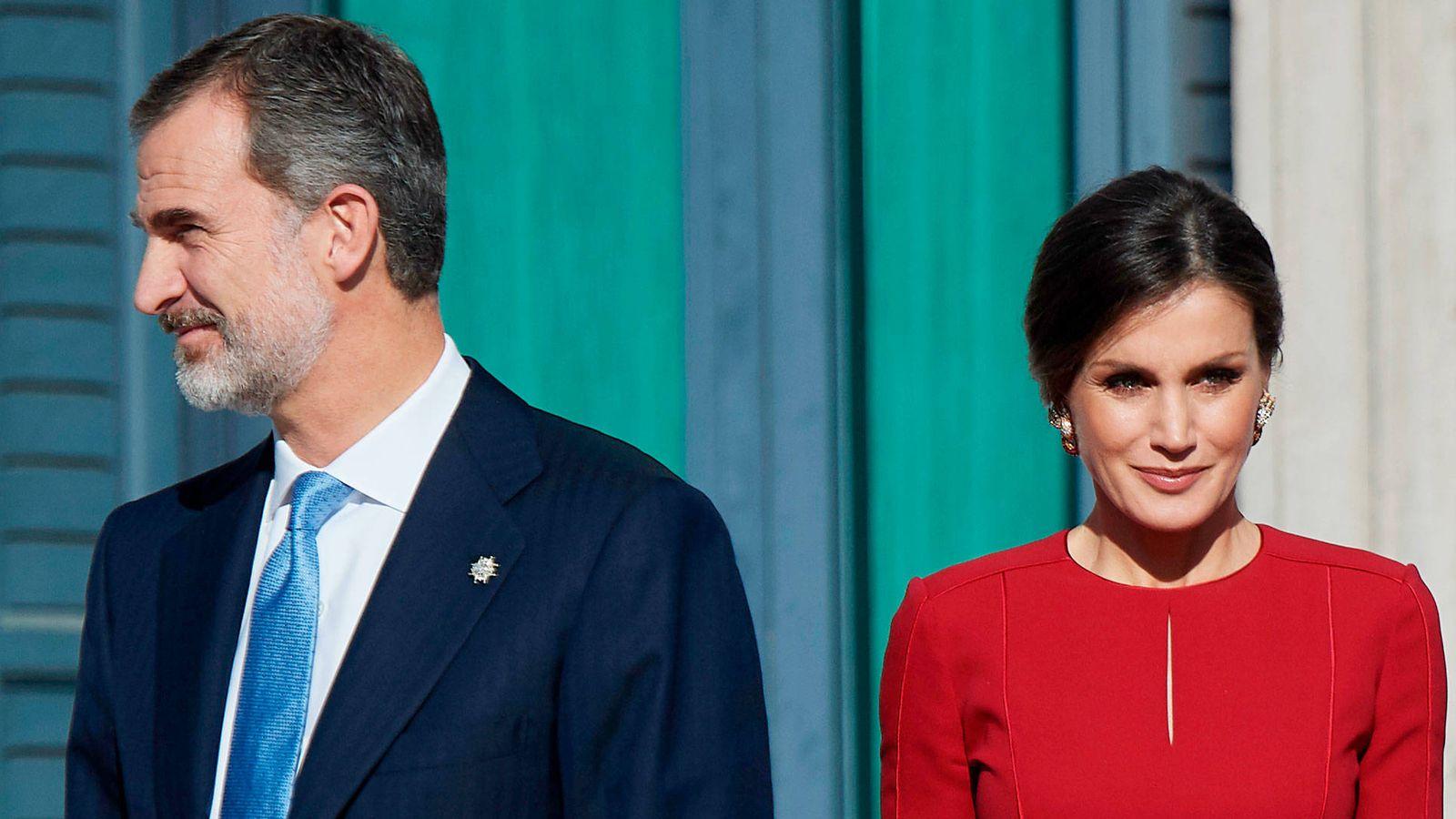 Foto: El rey Felipe y la reina Letizia, en un acto reciente. (Limited Pictures)