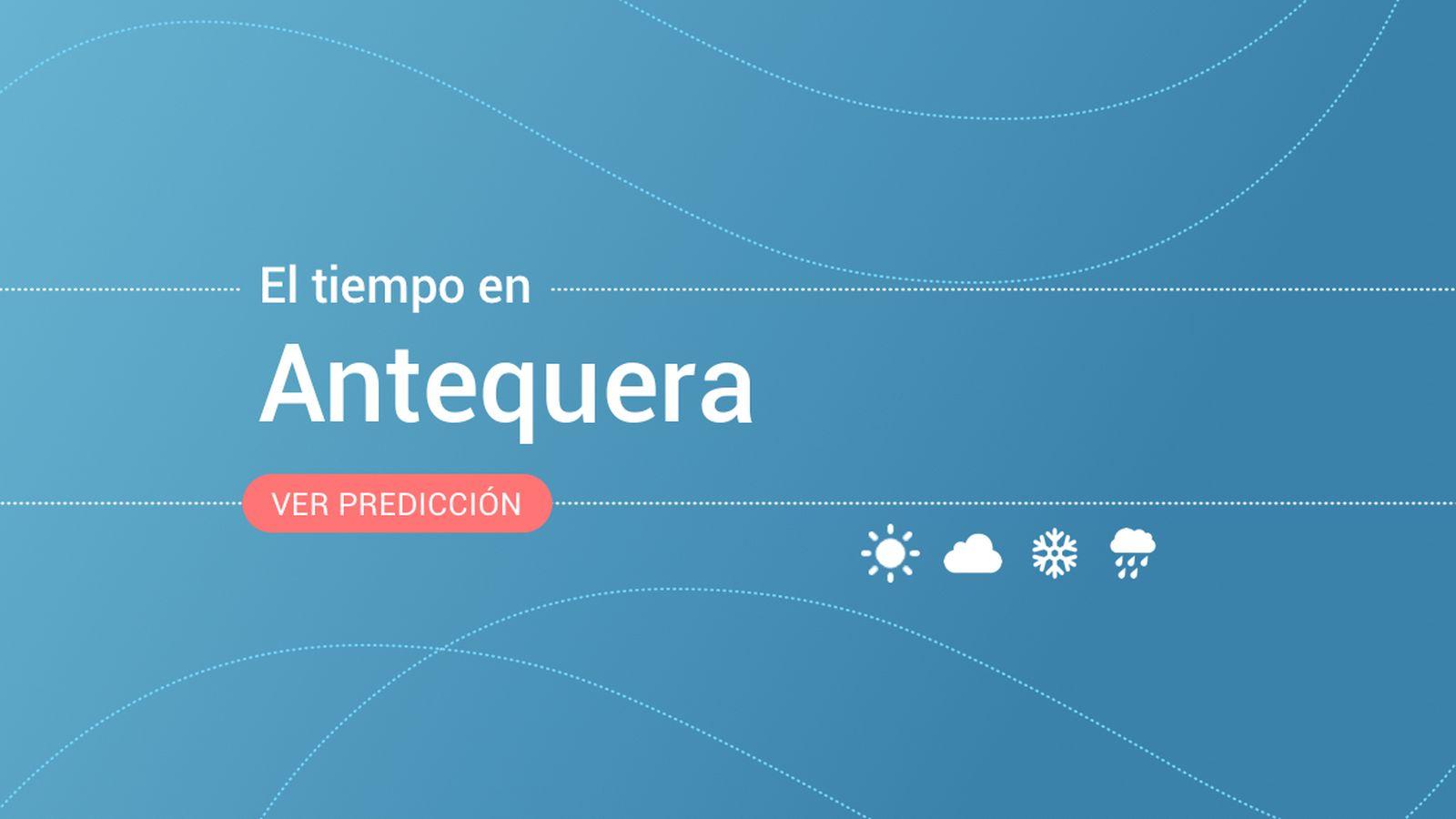 Foto: El tiempo en Antequera. (EC)