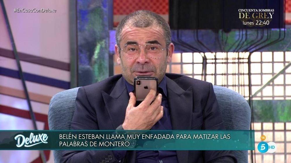 Foto: Jorge Javier Vázquez, en 'Sálvame Deluxe'. (Mediaset España)