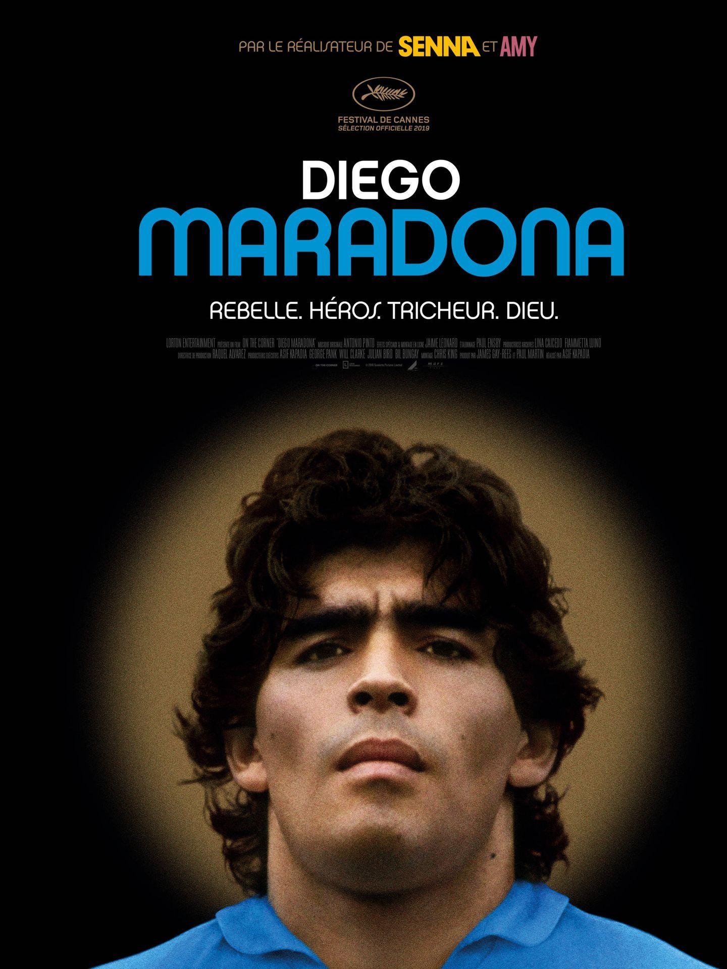 Cartel de 'Diego Maradona'