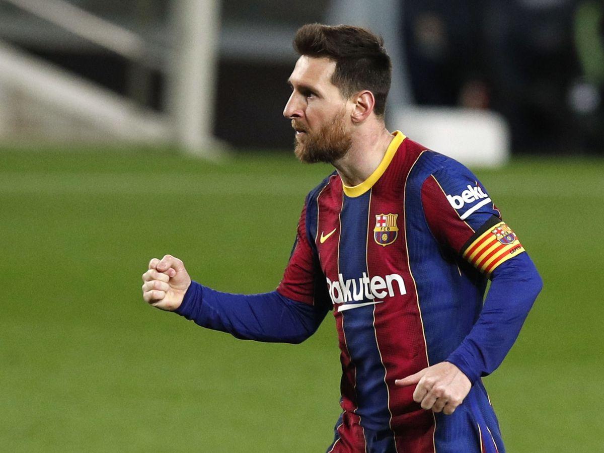Foto: Leo Messi, en una imagen de esta temporada. (Reuters)