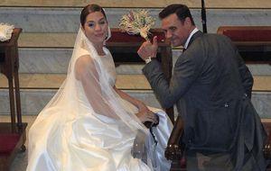 Las imágenes más emotivas de la boda de Leire Martínez