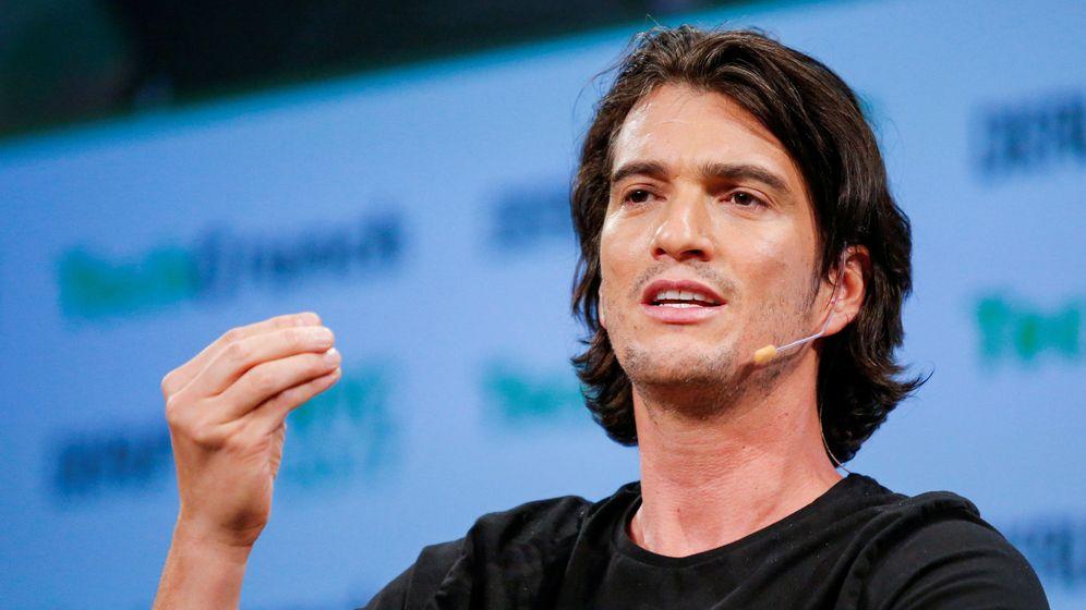 Foto: Adam Neumann, CEO de WeWork (Reuters)