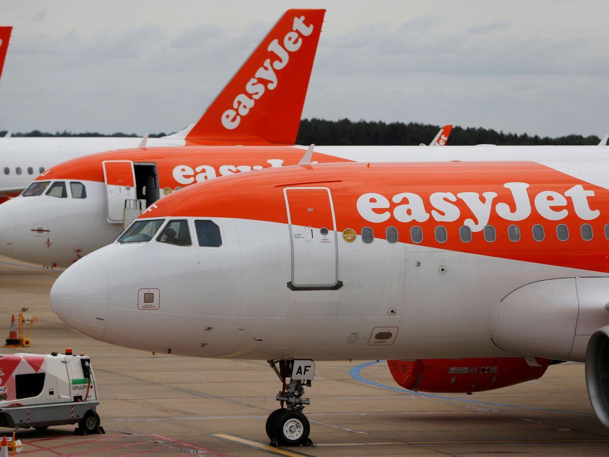 Foto: Un avión de EasyJet. (Reuters)