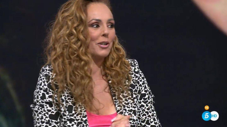 Rocío Carrasco, en otro momento de la entrevista. (Mediaset)