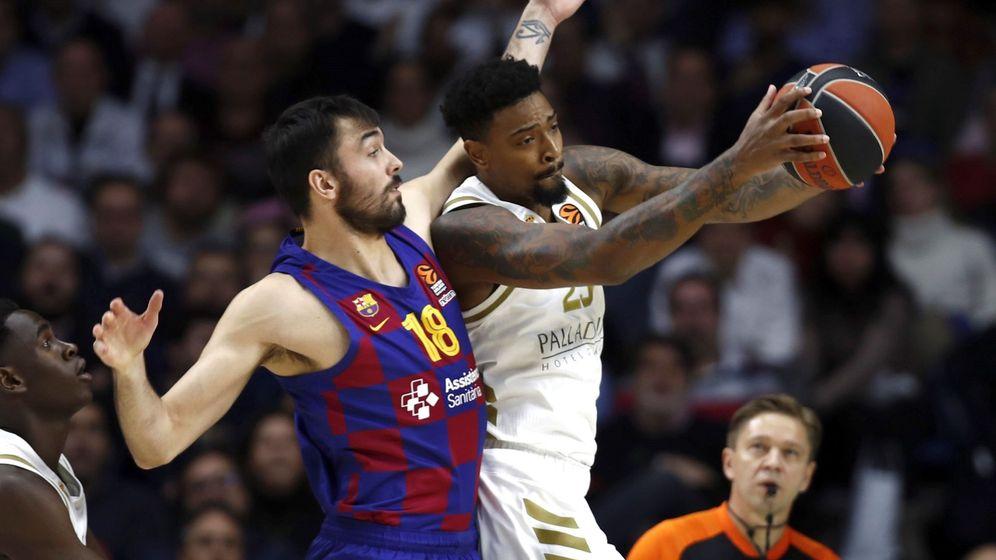 Foto: Real Madrid y FC Barcelona se enfrentaron este jueves en la octava jornada de la Euroliga. (EFE)
