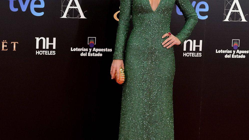 Foto: Paula Echevarría en los Premios Goya 2013. (Getty)
