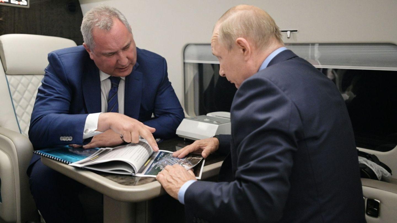 Rogozin y Putin, los Zipi y Zape aeroespaciales