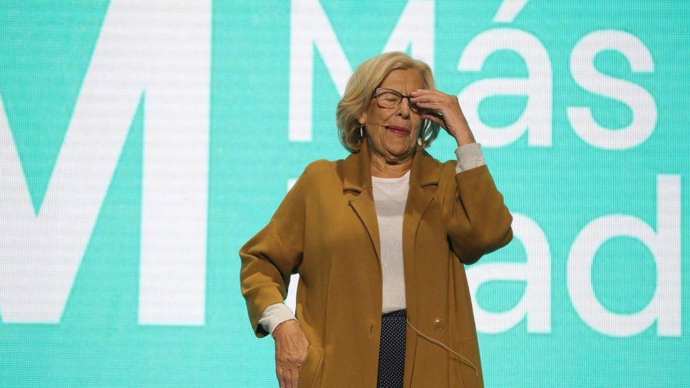 Foto: La candidata de Más Madrid al Ayuntamiento, Manuela Carmena (Efe)