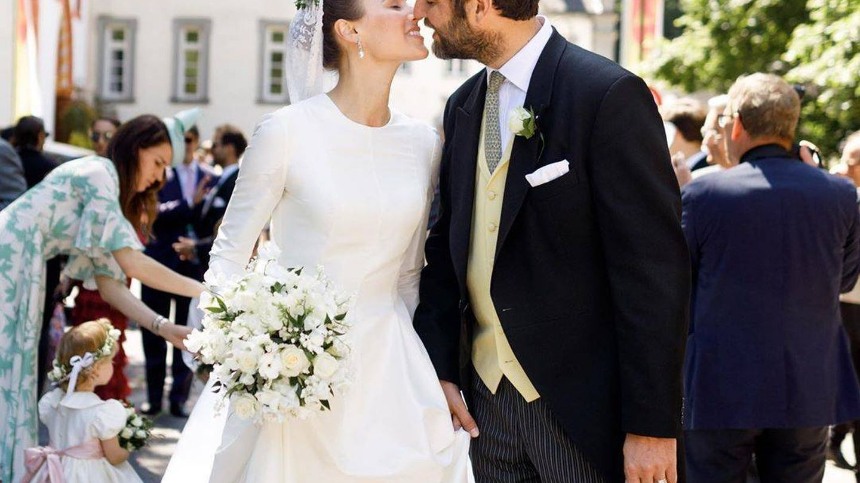 Alana Bunte y Casimir, el día de su boda. (Instagram: @miss_acb)