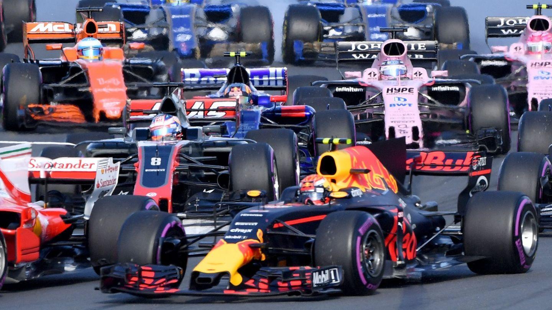 La nueva aerodinámica de la F1 marcará un antes y un después. (EFE)