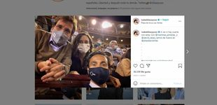 Post de Ayuso reta a Instagram tras la censura y sube otra foto en Las Ventas: