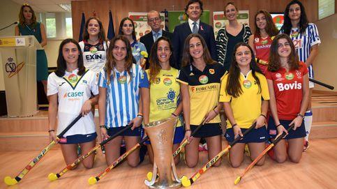 Presentación de la Liga Iberdrola de hockey femenino