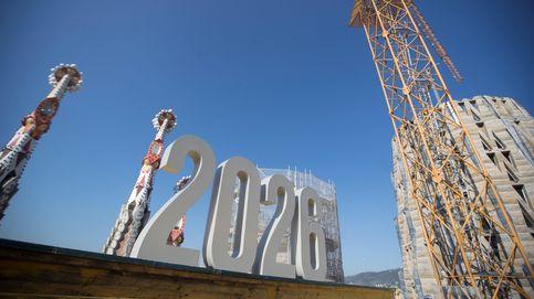 La Sagrada Familia, acabada en 2026