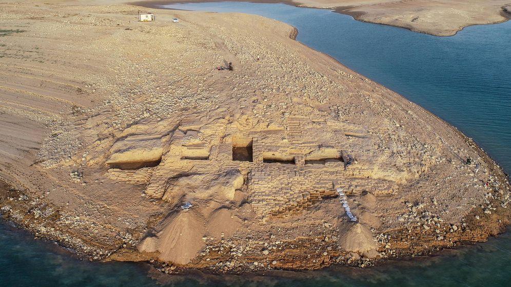 Foto: El palacio de Kemane, a orillas del río Tigris, en la región iraquí del Kurdistán (Foto: Universidad de Tuebingen)