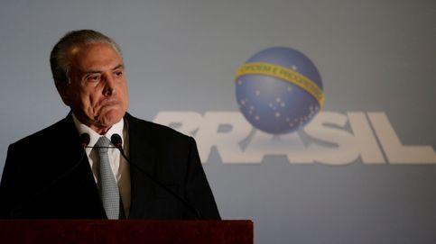 Temer pide la suspensión de la investigación por corrupción y obstrucción