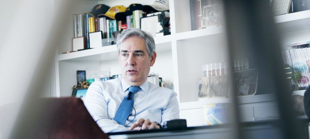 Foto:  Antonio Fernández-Galiano, presidente ejecutivo de Unidad Editorial (Foto: Enrique Villarino)