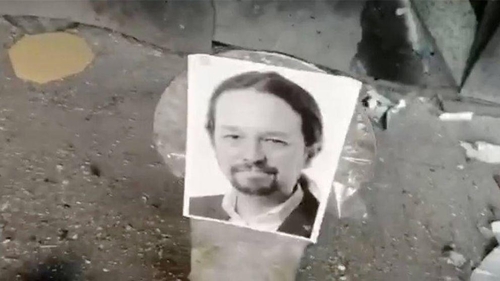 Interior investiga quién está detrás de los disparos a fotos de Pablo Iglesias y Sánchez