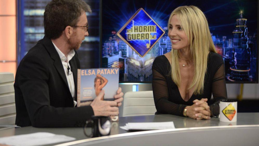 Foto: Pablo Motos y Elsa Pataky, en 'El hormiguero'. (Atresmedia Televisión)