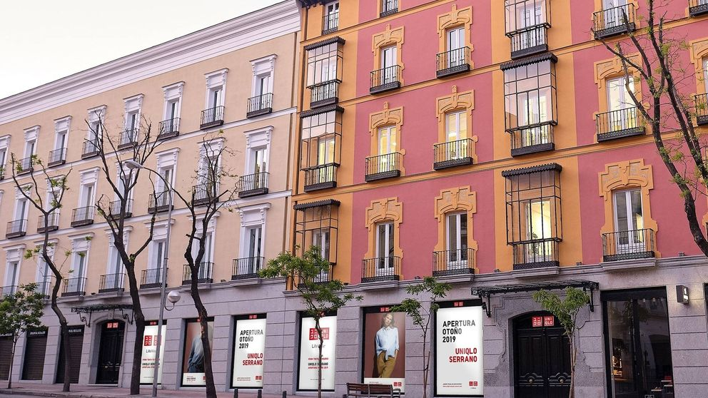 Uniqlo reta a Inditex con la apertura de su primera tienda en la 'milla de oro' de Madrid