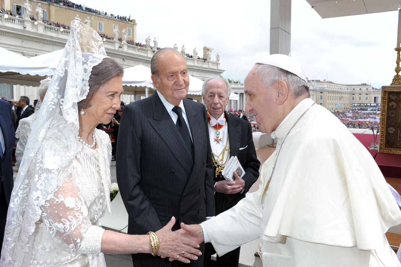 Resultado de imagen para paola de belgica y el papa
