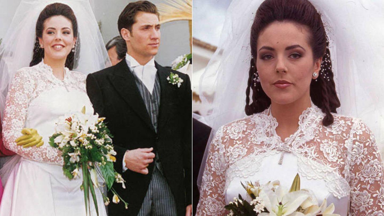 Rocío Carrasco, el día de su boda.