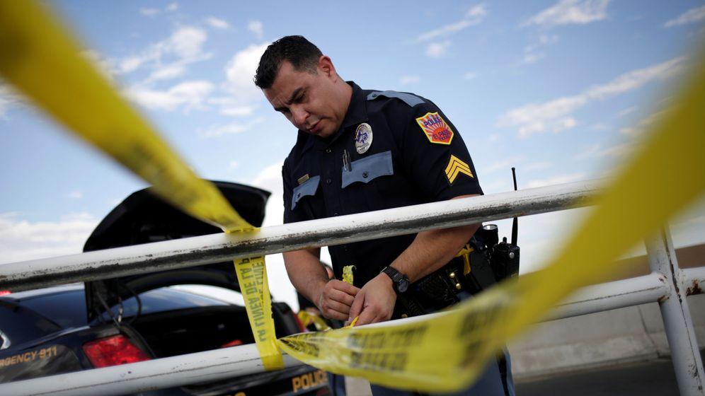 Foto: Un cordón policial tras el tiroteo masivo en El Paso. (Reuters)