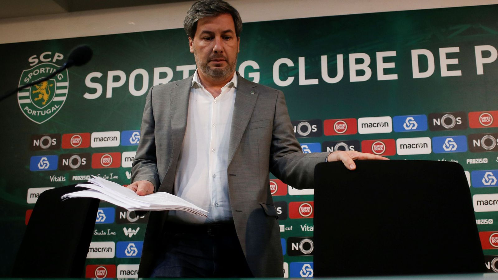 Foto: Bruno de Carvalho, expresidente del Sporting. (Reuters)