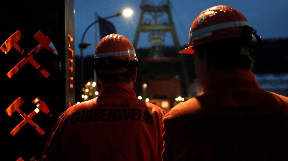 Foto: Foto de archivo de mineros. (EFE)