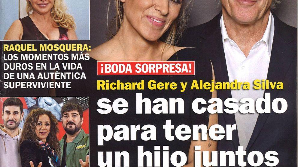Campanas de boda para Richard Gere y para Belén Esteban