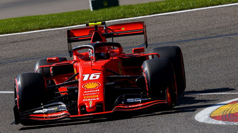 Foto: Ferrari vuelve a sentirse fuerte en Bélgica. (EFE)