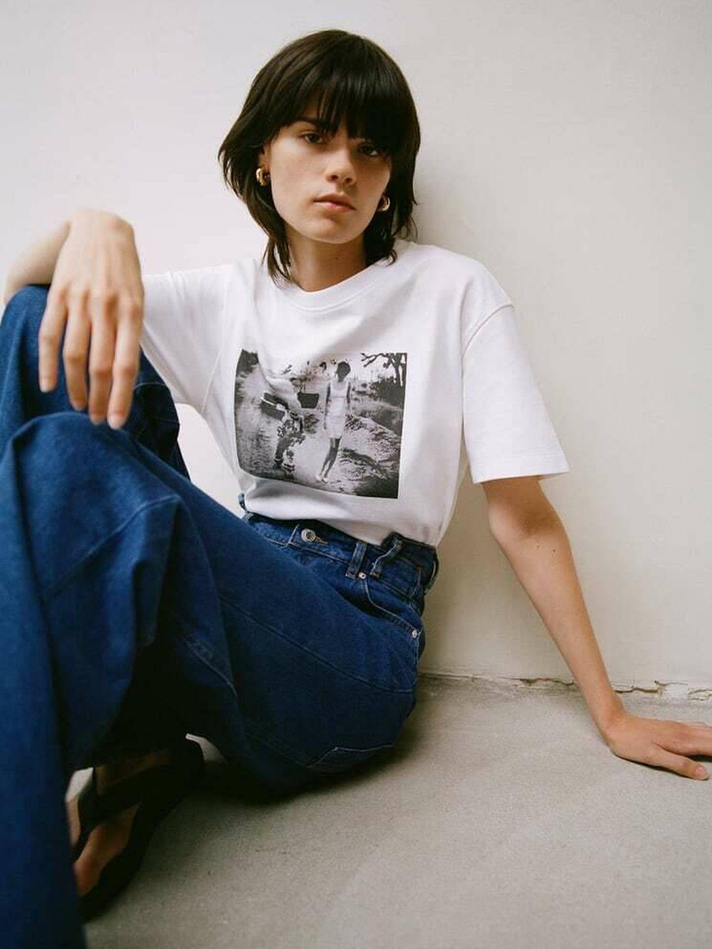 Una de las camisetas incluidas en la colección 'Zara Tribute'. (Cortesía)