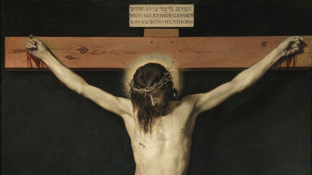 Foto: Detalle del 'Cristo crucificado' de Velázquez.