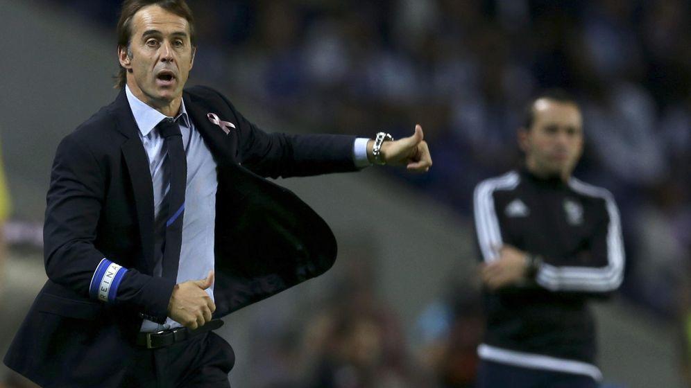 Foto: Julen Lopetegui, durante el partido del Porto contra el Sporting de Braga. (EFE)