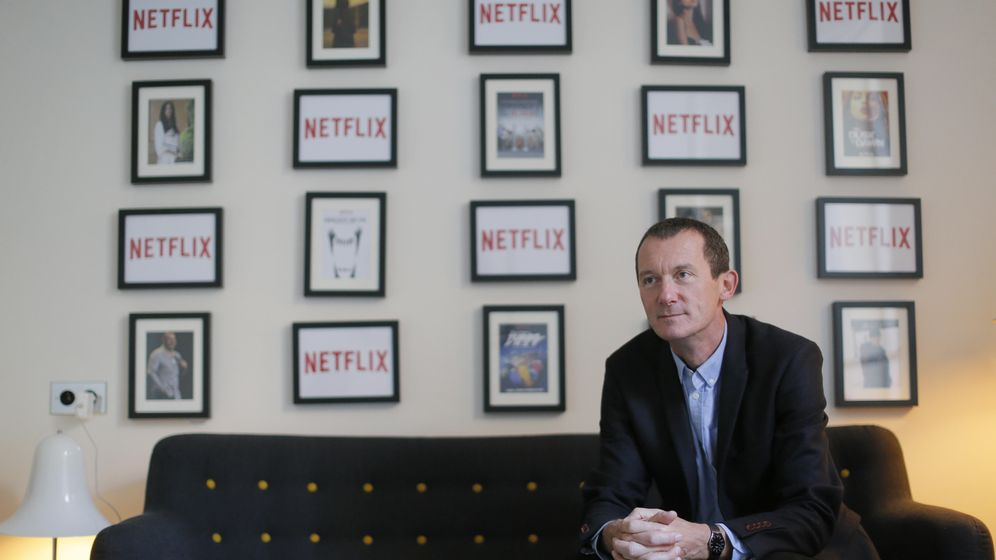 Foto: Neil Hunt, jefe de producto de Netflix. (Reuters)