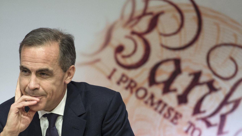 Foto: El gobernador del Banco de Inglaterra, Mark Carney
