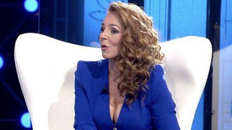 Rocío Carrasco, en su última entrevista en directo. (Telecinco)