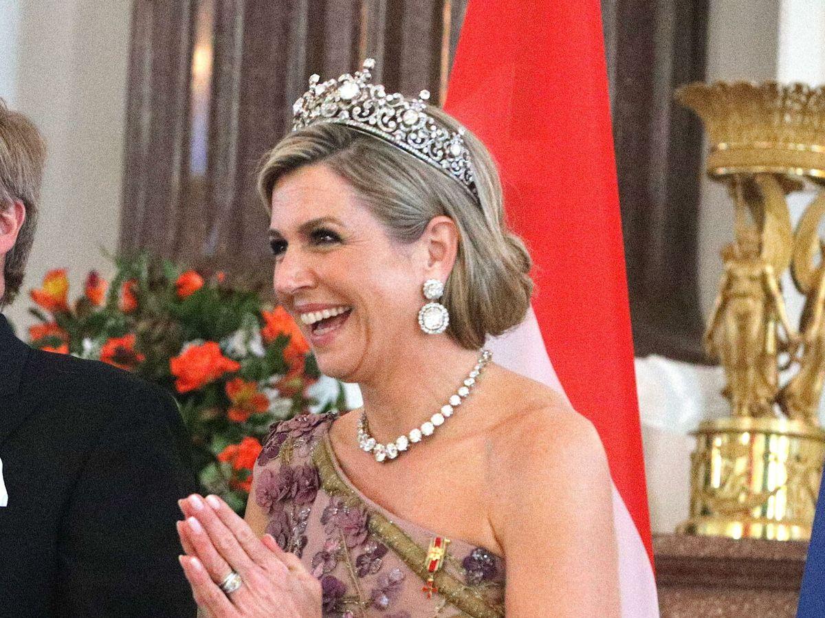 Foto: La reina Máxima, este lunes en Berlín. (EFE)