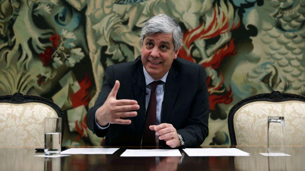 Foto: El presidente del Eurogrupo, Mário Centeno. (Reuters)