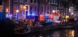 Post de Cuatro británicos lanzan su coche a un canal del barrio rojo de Ámsterdam