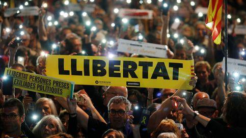 Concentración en Barcelona para exigir la libertad de los 'Jordis' tras un año presos
