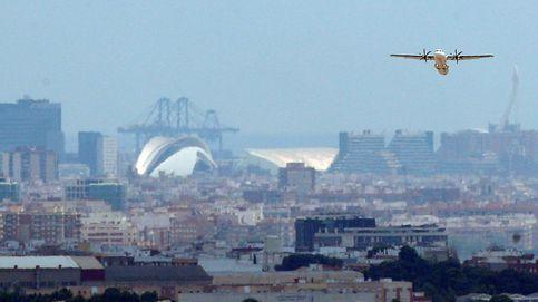 La niebla obliga a desviar 15 vuelos en los aeropuertos de Valencia y Alicante
