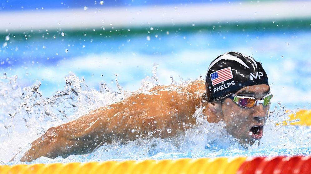 Foto: Michael Phelps, en los Juegos Olímpicos de Río de Janeiro. (EFE)