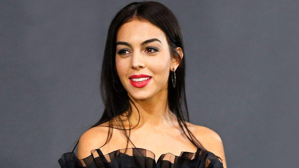Georgina Rodríguez se apunta en Milán a la máscara de oro
