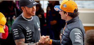 Post de Cómo Netflix da brillo a Carlos Sainz o saca punta a un Lewis Hamilton hundido