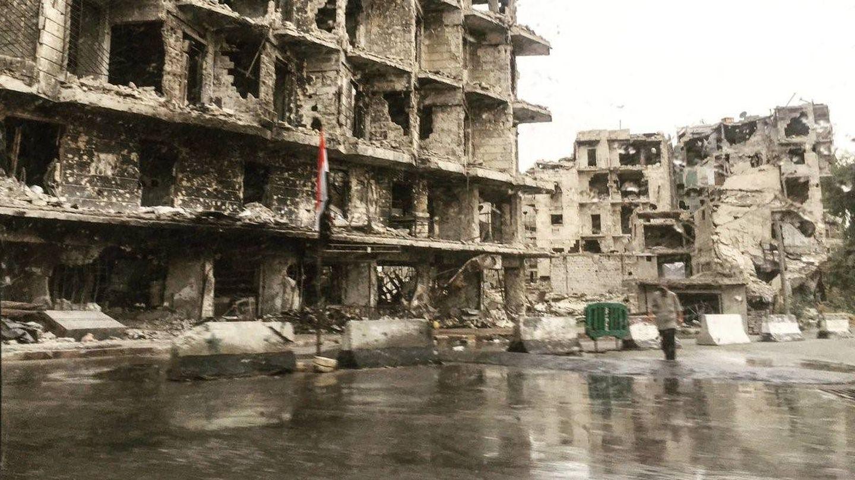 Barrio de Al-Midan, entrada a Alepo. (G. Garroum)