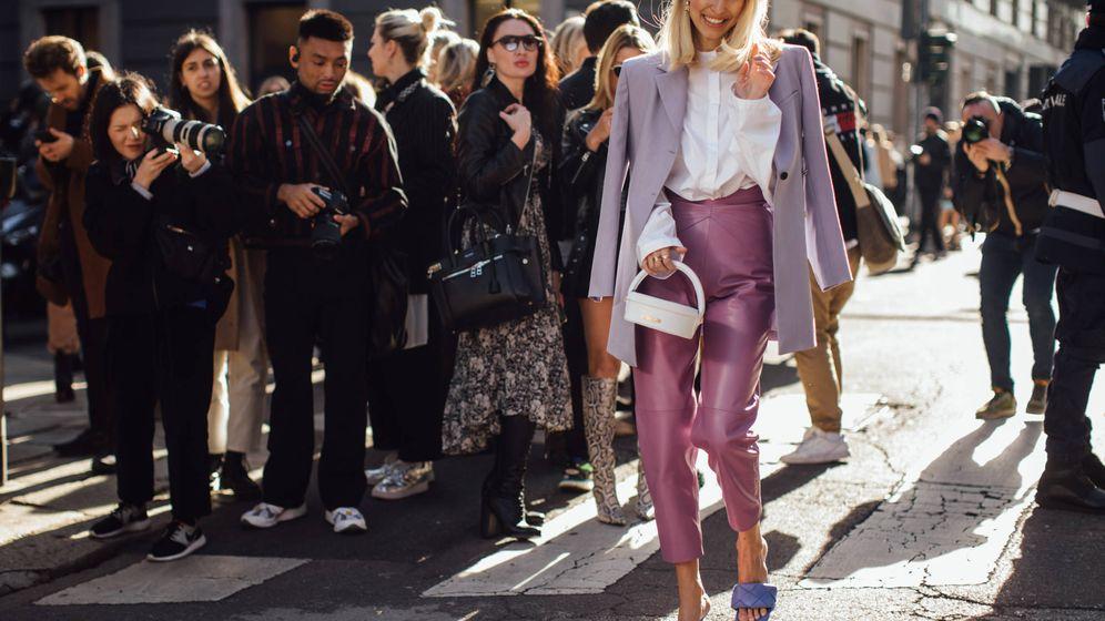 Foto: Las insiders adoran el lila. (Imaxtree)